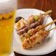 ビールと串物を是非合わせてお召し上がり下さい。