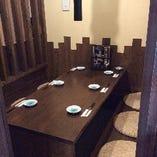 完全個室できました!予約必須の人気席です♪