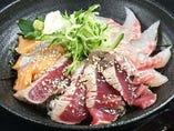 ランチAコース海鮮丼
