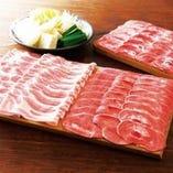 北海道つや姫豚とたんしゃぶ 肉ノ寿司食べ放題コース