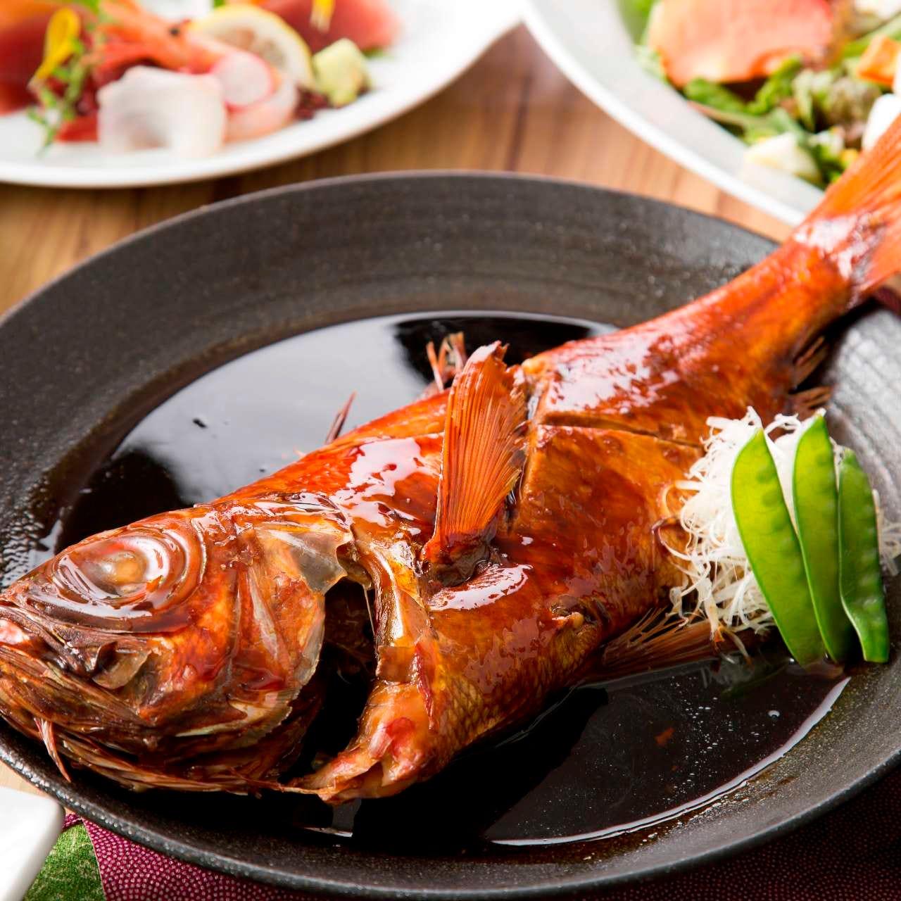 刺身から煮付けまで!鮮魚を味わう