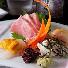 その日の新鮮魚介をご提供致します!