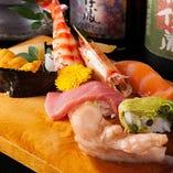 寿司や刺身、揚物などバリエーション豊かなメニューが豊富!