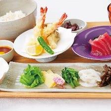 ゆったり贅沢な和食ランチ