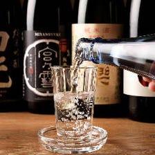 三重の地酒は全20種類ご用意!