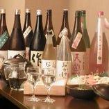 プレミアム銘柄をはじめ、三重県の地酒を取り揃えております!