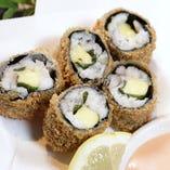 太刀魚のチーズ巻フライ