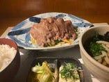 名物 牛タン定食