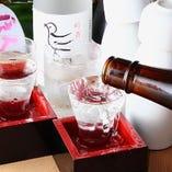 焼酎・日本酒まで充実し、お酒種類は豊富な取り揃え!