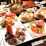 (飲み放題付き7000円→【皇帝】コース) ボリュームより「高級食材」を…そんな思いで厳選の食材を用意いたします。 全国でも有名な「満月廬」のこだわりをお楽しみください。