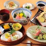 【お昼のミニ懐石】 接待や会食に(3000円〜要予約)