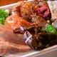 豊洲市場からの新鮮な魚介 フライパン焼きでアツアツの料理に!