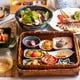 旬の野菜と食材を満喫! 人気コースの「色彩(しきさい)コース」