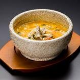石焼韓国風チーズリゾット