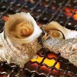 美味しい魚介が味わえる「浜焼きコーナー」!