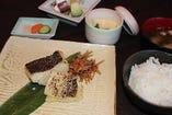 鱈の西京焼き定食
