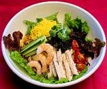 地野菜たっぷり♪冷やし中華始めました♪