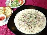 グラナ・パダーノのチーズリゾット
