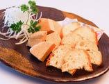 クリームチーズの八丁味噌漬け