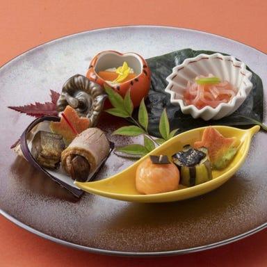 大阪新阪急ホテル 日本料理・天ぷら なにわ橘 メニューの画像