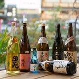 美酒銘酒がずらり!特製竹筒で味わう京都伏見の地酒も多数ご用意