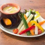 お野菜を美味しく食べられるバーニャカウダー