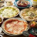 1時間ピザ食べ放題コース