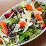 ベルギー野菜と塩こぶのサラダ
