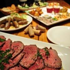 ★豊富な肉料理をワインとどうぞ