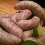 国産肉を使用した自家製ソーセージ【福岡県】