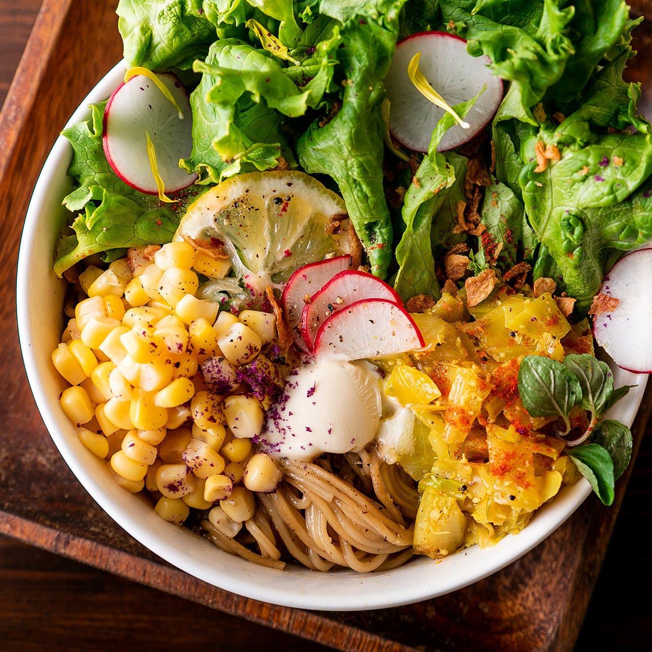 スパイスで野菜の旨味を引き出す逸品