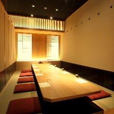 ◆全室個室  2名様~全席個室◆