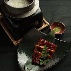 釜飯 鰻定食