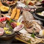 北海道の食材をふんだんに使用した各種宴会に最適なコース