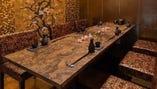 【完全個室】 上品で落ち着きある個室は接待や会食に最適です