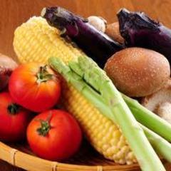 野菜などこだわりの食材