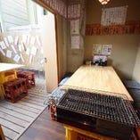 【喫煙可能◎】テーブル個室(2~10名様) テラス席付