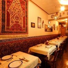 特別な空間でとっておきのディナーを