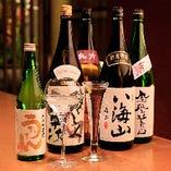 料理の旨味を引き立たせる厳選の日本酒【全国各地】