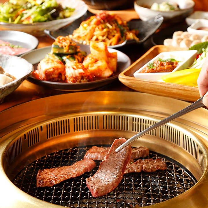 陽山道の魅力が詰まった特別な焼肉コースをお愉しみください