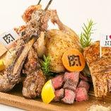 【肉ソン名物】肉肉肉盛り合わせ 6380円⇒3190円(税込)