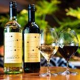 こだわりの自然派ワインでお料理もより魅力的に◎