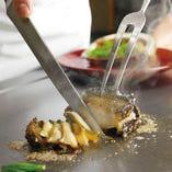 新鮮な旬の高級食材を贅沢に使用