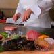 お客様の目の前で焼き上げる新鮮食材を存分にご堪能ください。