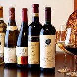 人気のワインを多数ご用意しております。