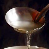 当店自慢の鰹出汁を使用したお料理を多数ご用意しております。