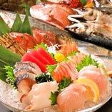 旨いさかなあります!新鮮な刺身をぜひお召し上がり下さい!!