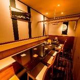 テーブル席個室(7~10名様)