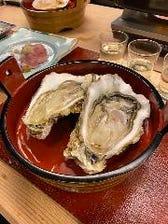 三陸産牡蠣(大)450円(税抜)