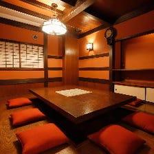京都の町屋をイメージした和空間